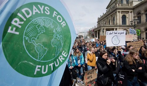 Fridays for Future protest in Hanover