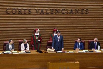 """Morera pide a los diputados de Les Corts que """"no superen nunca los límites ni utilicen la palabra para herirse"""""""
