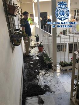 Cádiz.-Sucesos.- Dos detenidos tras una reyerta en el interior de una vivienda en Cádiz
