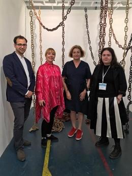 Irene de Andrés, Erola Arcalís, Patricia Mato Mora y Stella Rahola Matutes exponen 'Paisajes Esenciales' en JustLX