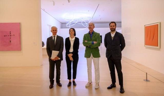 El museo Guggenheim Bilbao repasa la trayectoria del artista italo argentino Lucio Fontana a través de 4 décadas