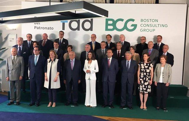 La reina Letizia preside la reunión del Patronato de Fad