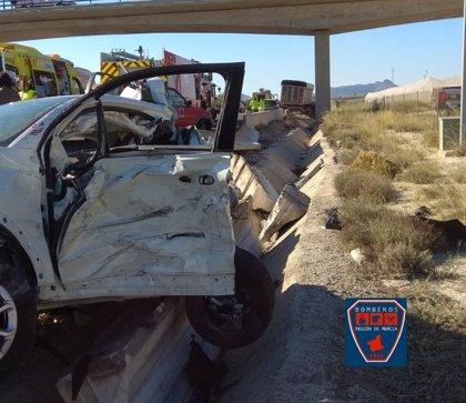 La Guardia Civil baraja la distracción y la somnolencia como causa probable del accidente fatal de la A-30