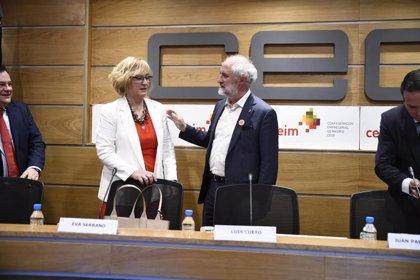 Cueto (Más Madrid) defiende Madrid Central ante empresarios por la multa millonaria con la que amenazaba la UE