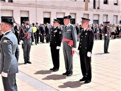 """El jefe de la Guardia Civil en Cataluña dice que son el cuerpo que está enfrentado al """"independentismo radical"""""""
