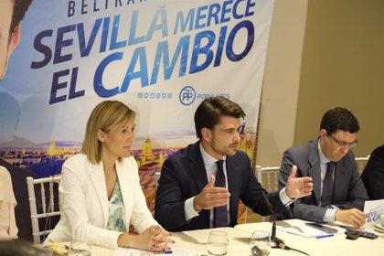 """26M.- Beltrán Pérez promete """"suprimir trabas"""" extendiendo la declaración responsable y agilizando licencias"""