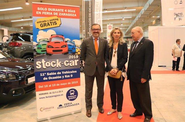 FeriaZaragoza.- Stock-car inaugura su undécima edición con 45.000 metros cuadrados de superficie expositiva
