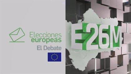 Canal Sur TV organiza el jueves 23 un debate con candidatos a las europeas de PSOE, PP, Cs, Unidas Podemos y Vox