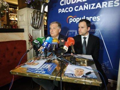 """Cañizares (PP) presenta un programa para todos los ciudadanos y afirma que es """"absolutamente"""" realizable"""