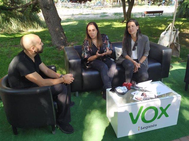 """26M.- Monasterio (Vox) dice que es """"intolerable"""" el escrache a Villacís, una """"mujer embarazada"""""""