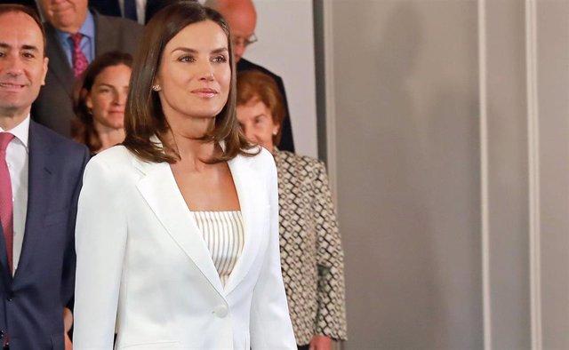 La Reina Letizia se suma a la moda 'no make up'