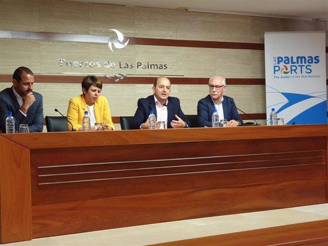 Puerto de Las Palmas impulsará la introducción de productos agroalimentarios canarios en los cruceros