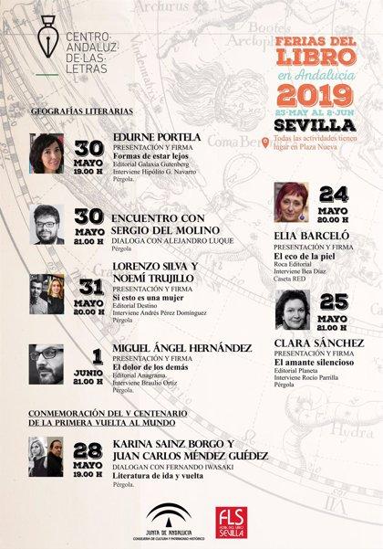 El Centro Andaluz de las Letras dedica su programación en la Feria del Libro de Sevilla a la literatura y los viajes