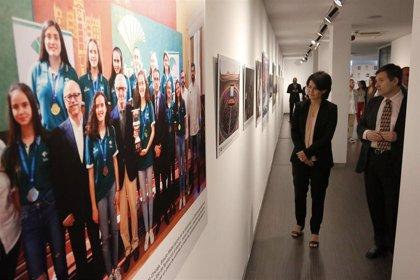 Una exposición recorre en medio centenar de fotografías los momentos más relevantes de 2018