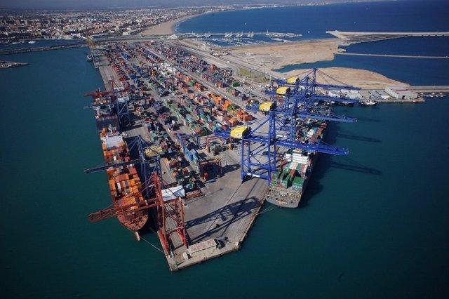 Los fletes de exportación desde Valencia crecen un 2,01% en abril, y las exportaciones a EEUU aumentan un 20%