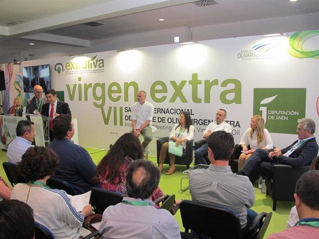 Jaén.- MásJaén.- Chefs con Estrella Michelín y productores oleícolas ponen en valor el uso del virgen extra en la cocina