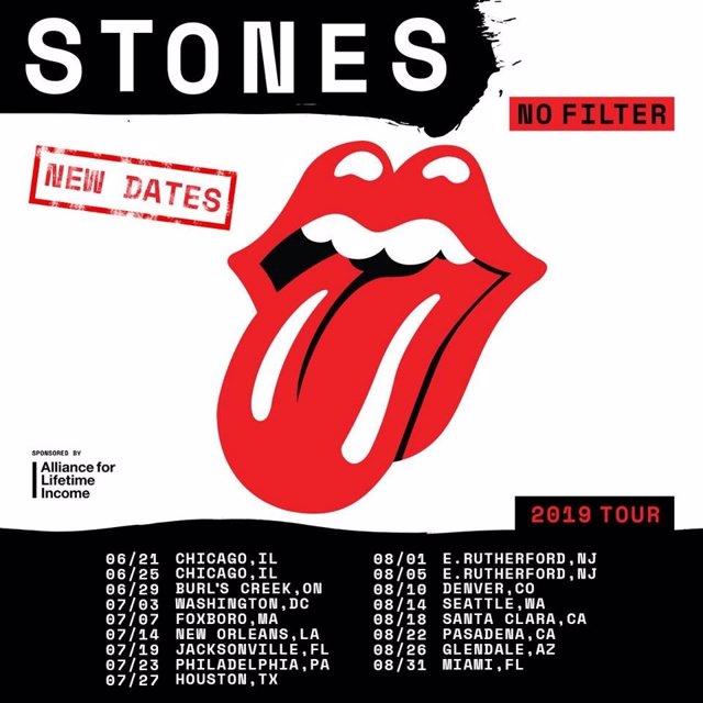 The Rolling Stones anuncian las nuevas fechas de su gira con Mick Jagger recuperado