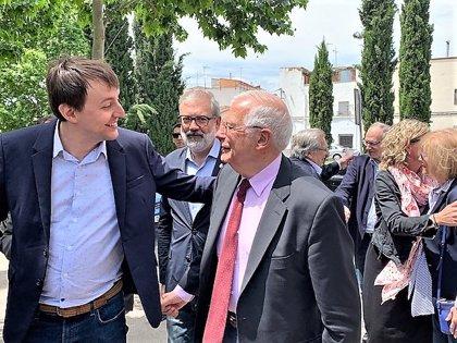 """Borrell califica de """"totalitarismo"""" el rechazo del Parlament a que Miquel Iceta sea senador"""