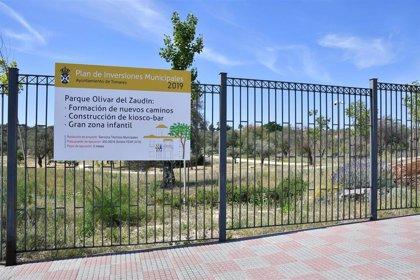 Tomares (Sevilla) licita una zona de juegos infantiles de unos 3.000 metros cuadrados en el Parque Olivar del Zaudín