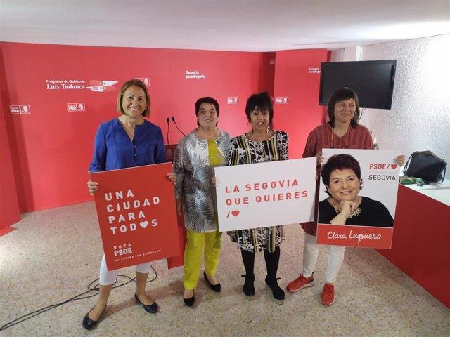 26M.- La Casa Del Deporte Y Un Módulo De Atletismo Cubierto, Prioridades Del PSOE En Segovia En Materia Deportiva