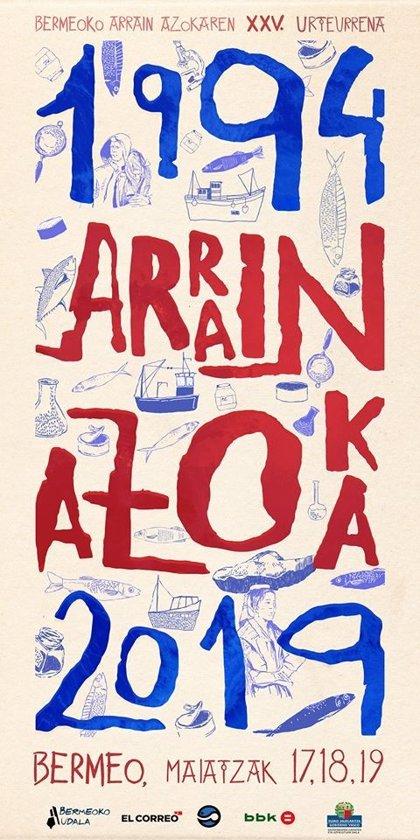 Arrain Azoka de Bermeo celebra este fin de semana su 25 aniversario con un amplio un programa de actividades y 21 stands
