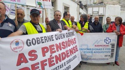Lídia Senra (En Marea) se compromete a continuar la defensa en Bruselas del sistema público de pensiones
