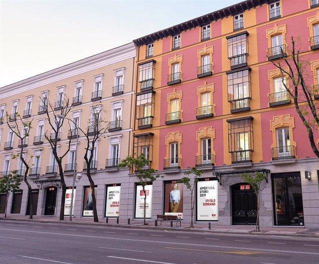 Economía/Empresas.- Uniqlo abrirá su primera tienda en Madrid en otoño