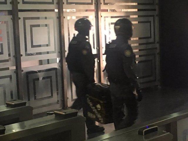 Venezuela.- El SEBIN retira un supuesto artefacto explosivo de un edificio administrativo del Parlamento