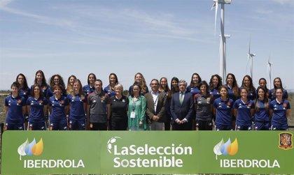 Iberdrola compensará la 'huella de carbono' de la selección femenina de fútbol