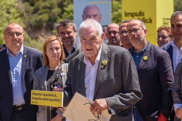 """VÍDEO: Maragall (ERC) duda de la """"idoneidad"""" de Iceta para presidir el Senado al no visitar a los presos"""