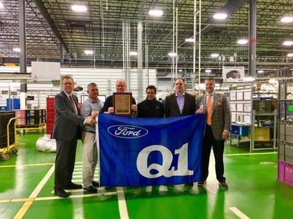 Ficosa gana el premio Ford Q1 por la calidad de sus productos en su planta de Cookeville