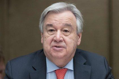 """Guterres sobre el cambio climático: """"Es la batalla de mi vida"""""""