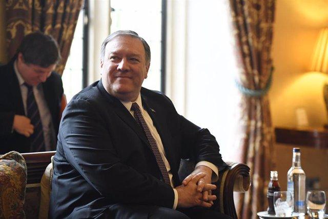 EEUU/Rusia.- Pompeo se reunirá la próxima semana con Putin y Lavrov en Rusia