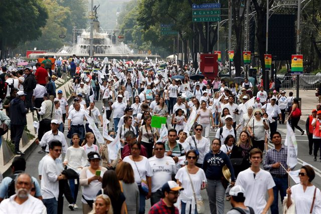 Movilización contra el matrimonio homosexual en México