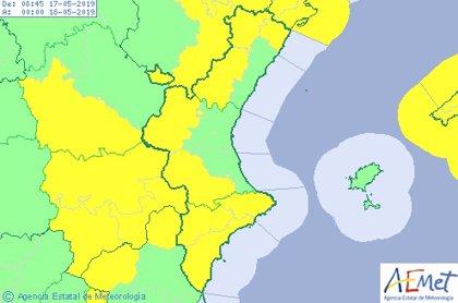 La Comunitat Valenciana está en aviso este viernes por fuertes vientos que pueden alcanzar los 80 km/h
