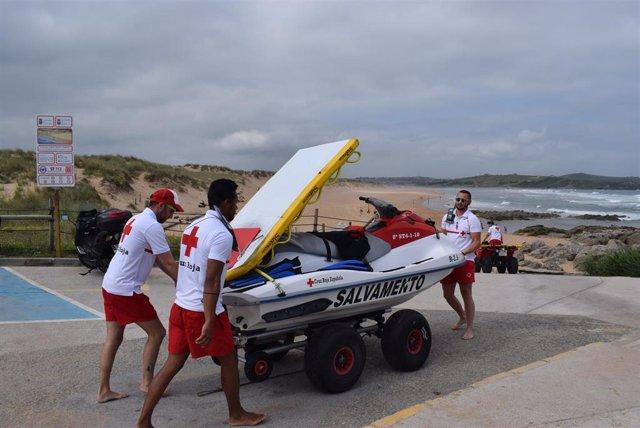 Publica las bases de las ayudas para la vigilancia, rescate y salvamento en las 73 playas de Cantabria