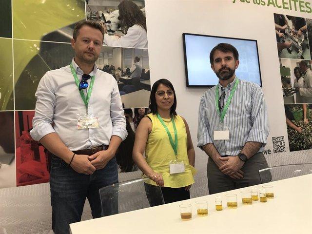Jaén.- Una spin-off de la UJA desarrolla un proyecto de sensores humanoides para la caracterización del aceite de oliva