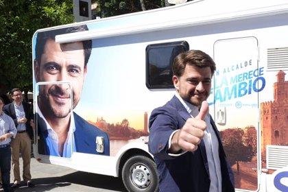 """Beltrán Pérez: """"Compito contra mí mismo. El CIS de la calle dará la Alcaldía al PP con votantes de otros partidos"""""""