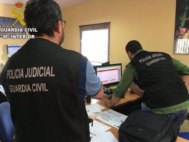 Huelva.- Sucesos.- Detenidas cuatro personas por presunto tráfico de droga en Ayamonte