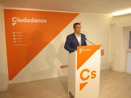 """26M.- San Martín (Cs) aboga por hacer de Logroño """"la mejor ciudad para formar cualquier clase de familia"""""""