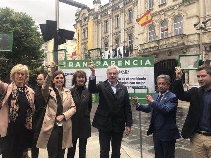 Revilla confía en llevar transparencia implantada por PRC en el Gobierno a Santander