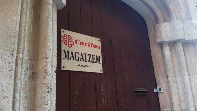 Almacén de Cáritas en Palma