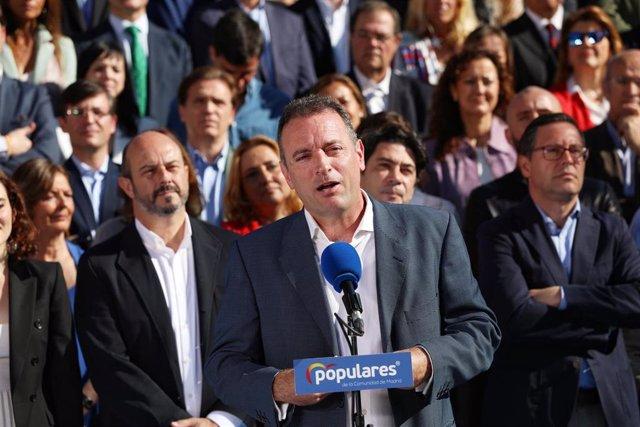 Presentación de los candidatos del PP a la Asamblea de Madrid