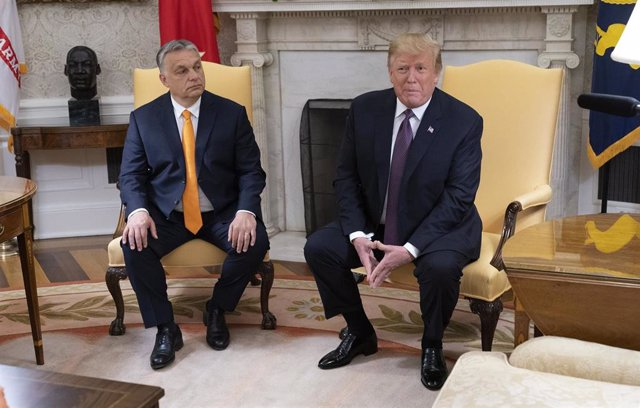Trump hosts Hungarian PM Viktor Orban