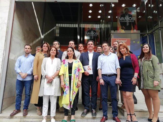 Huelva.-26M.-Cs presenta un programa basado en bajar impuestos, inversión en grandes proyectos y participación ciudadana