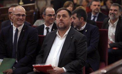 El tribunal del procés permite a los presos electos ir el lunes a las Cortes para tramitar sus actas de parlamentarios