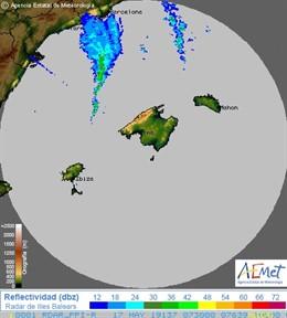 Activan el Meteobal por fuentes vientos y fenómenos costeros en Mallorca