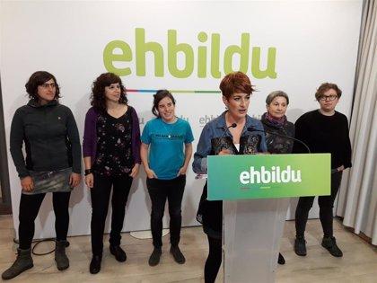 EH Bildu pide más presupuesto para el INAI y medidas para el reparto de los cuidados