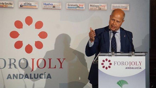 """Educación.- Javier Imbroda señala que Andalucía """"vive una situación de emergencia educativa"""""""