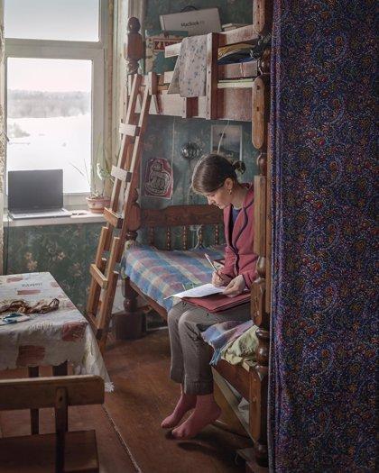 """Una exposición de fotografía en Alcobendas recoge el """"terrible"""" pasado de la prisión soviética de la isla de Solovki"""